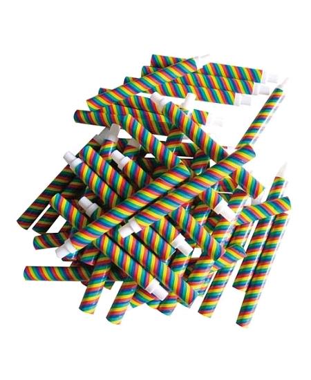 sarbacanesx50/18cm multicolore sécurisée