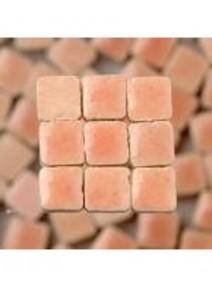 FIN DE SERIE mosaïque rose x100/5x5x3mm