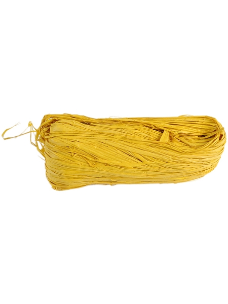 raphia jaune 50grs