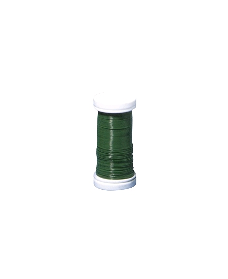 100M de fil de fer vert  D 0.35mm