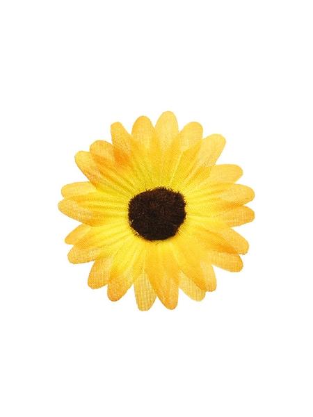 fleursx24/D5cm jaune
