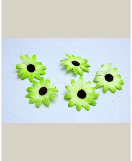 fleursx24/D5cm  verte