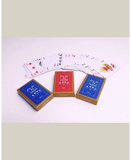 jeu de 54 cartesx4 paquets plastifiées