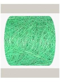 fin de série  5M/7cm abaca turquoise