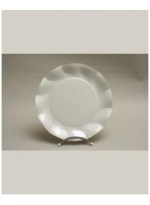 assiettesx10/d27cm blanche carton