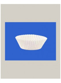 caissettesx1000/d2.8cmxh1.6cm blanche ronde