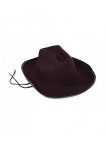 chapeau Dallas noir adulte
