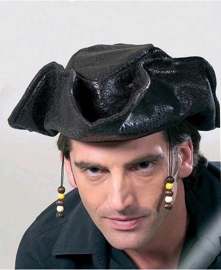 chapeau pirate des caraïbes