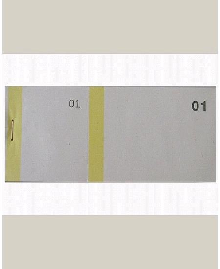 bloc vendeurx100/66x135mm jaune en 2 parties