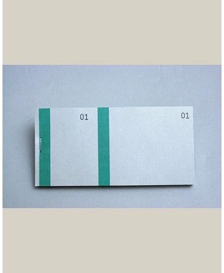 bloc vendeurx100/66x135mm vert en 2 parties
