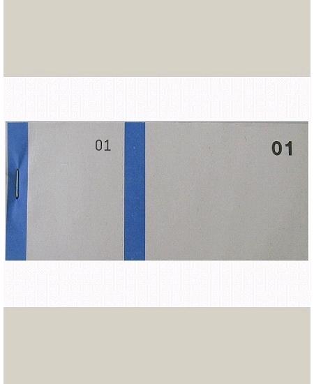 bloc vendeurx100/66x135mm bleu foncé en 2 parties