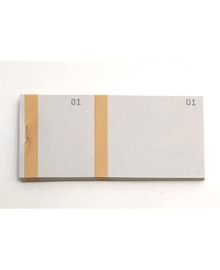 bloc vendeurx100/66x135mm orange en 2 parties