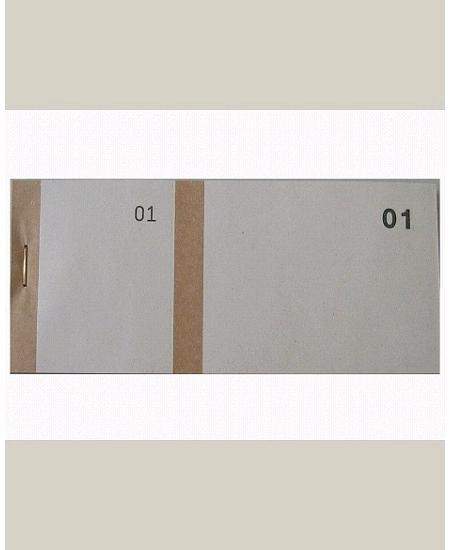 bloc vendeurx100/66x135mm marron en 2 parties