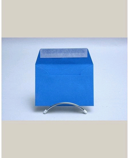 enveloppe bleu turquoisex20/114x162mm 120grs polle