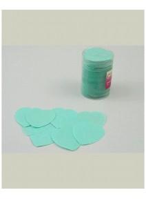 fin de série confettis de scène vert nil