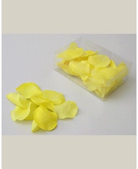 pétales de scènex100 jaune polyester