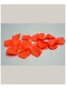pétales de scènex100 orange polyester