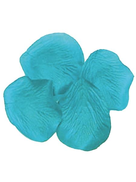 pétales de scènex100 turquoise polyester