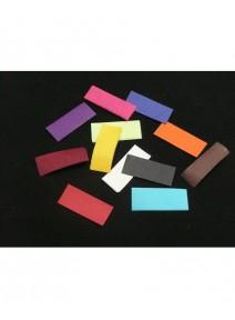 canon à confetti multicolore rectangulaire