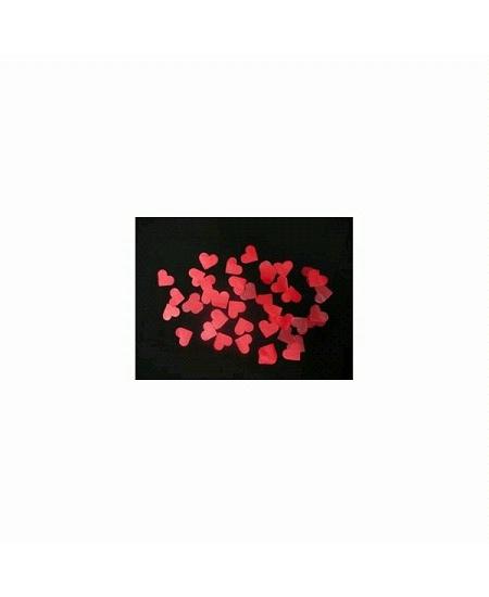 canon à confetti coeur rouge 60cm