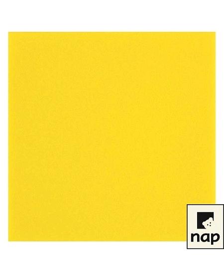 serviette jaune vifx50/VS 40x40cm