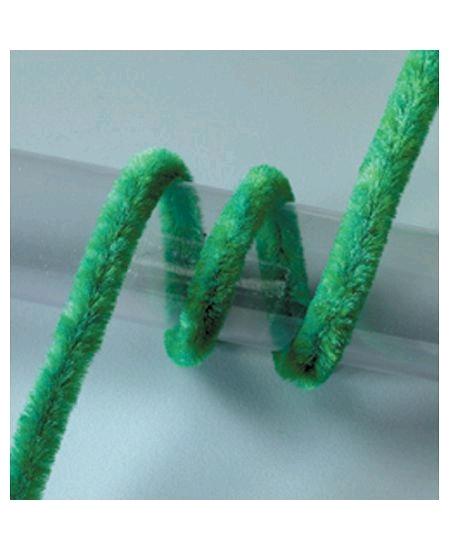 fil chenillex10/50cm vert 8mm