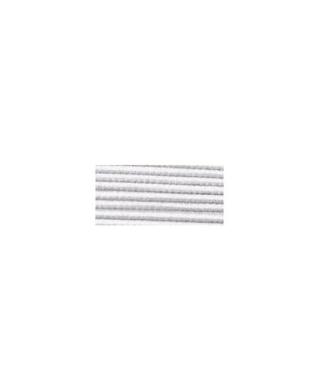 fil élastique 5M/1mm blanc