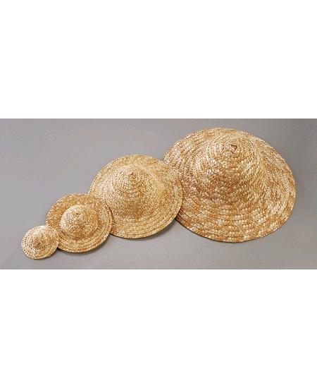chapeau de paille D16cm naturel clair