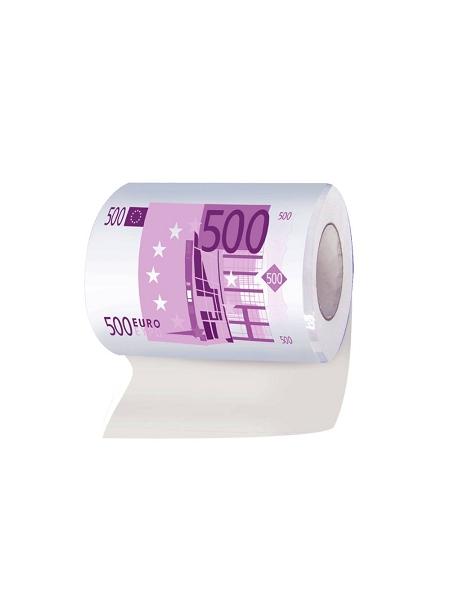 papier toilette billet de 500 euros