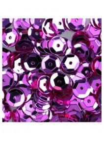 paillettesx500/6mm rose bombées