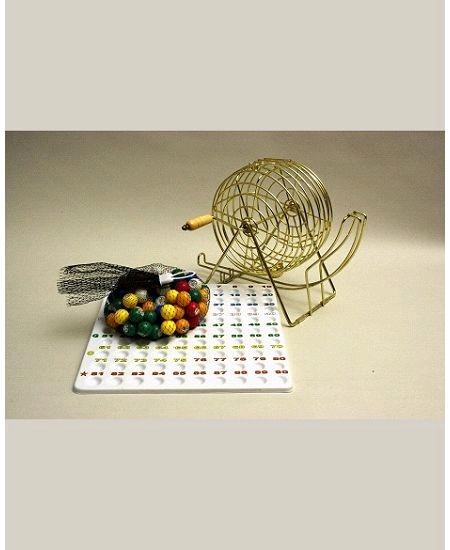 boulier standard métallique avec plateau+90 boules