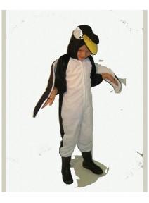 deguisement 5/7ANS pingouin peluche