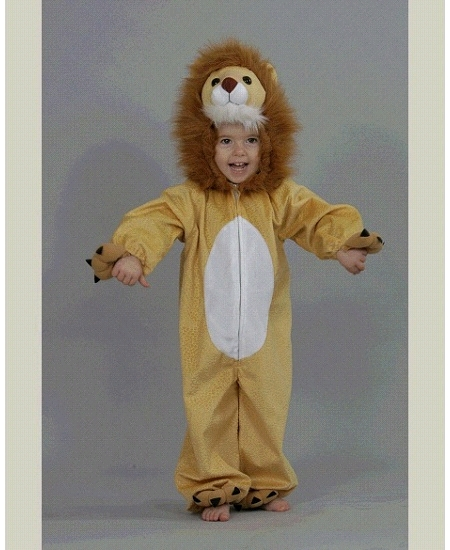 deguisement 2 3ANS lion peluche
