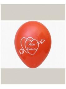 ballonsx10/29cm saint valentin rouge 1face