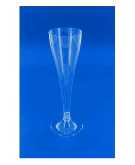 flûtesx30/10cl pied cristal à monter