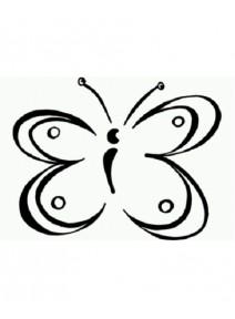 tampon papillon en liberté (B)