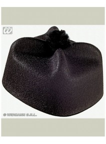 chapeau curé barette feutre
