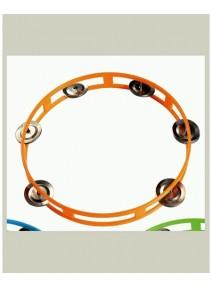 tambourin orange d22cm