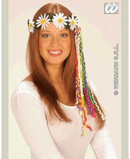 couronne de fleurs marguerite blanche