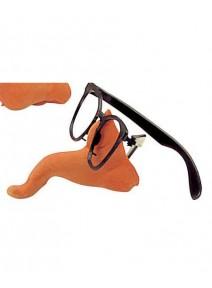 lunette noire sans verre plastique + nez gros