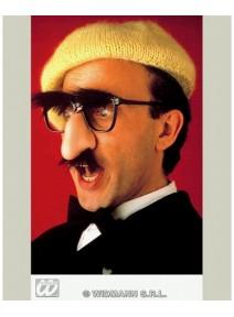 lunette avec nez + moustache + sourcils