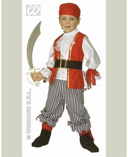 deguisement 3 4ANS pirate garçon
