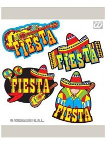 décorationsx4/d55cm mexicain