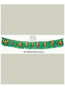 """FIN DE SERIE banderole """"w la fiesta """""""