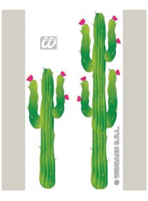 set de 2 cactus 1m80 +1m20 en carton