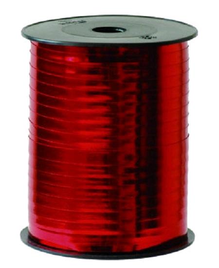 bolduc rouge 250Mx7mm miroir