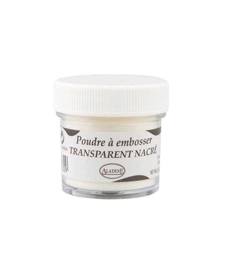 poudre à embosser transparent pot 30ml