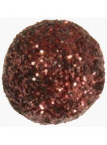 boulesx50/D0.70cm chocolat pailletée