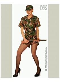 deguisement T40 42 militaire femme
