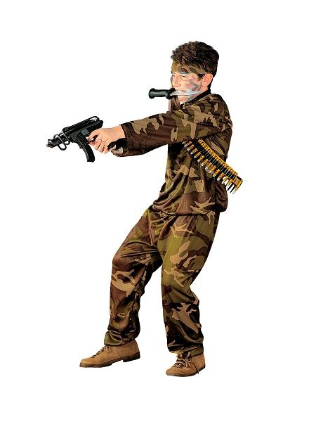 deguisement 8 10ANS militaire